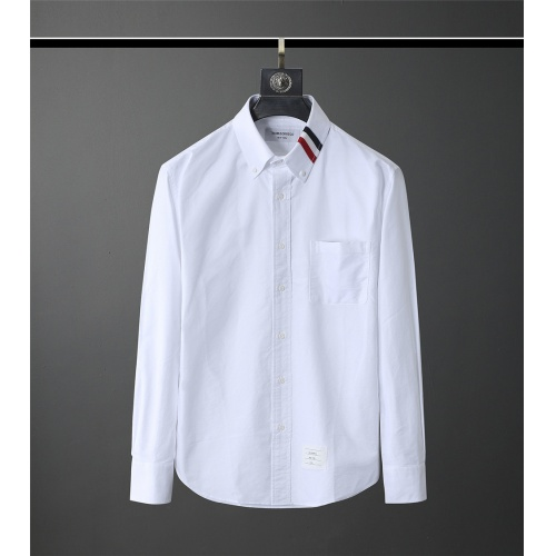 Thom Browne TB Shirts Long Sleeved Polo For Men #831128