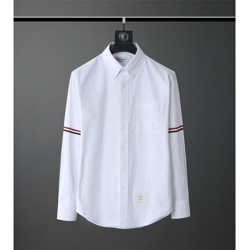 Thom Browne TB Shirts Long Sleeved Polo For Men #831130
