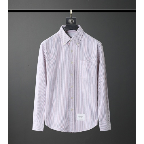 Thom Browne TB Shirts Long Sleeved Polo For Men #831133
