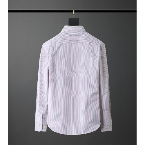 Replica Thom Browne TB Shirts Long Sleeved Polo For Men #831133 $80.00 USD for Wholesale