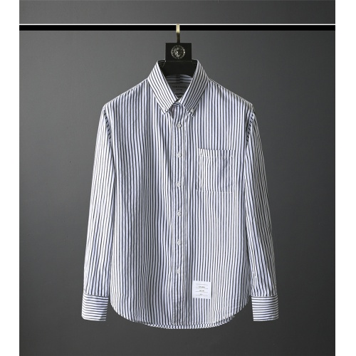 Thom Browne TB Shirts Long Sleeved Polo For Men #831134