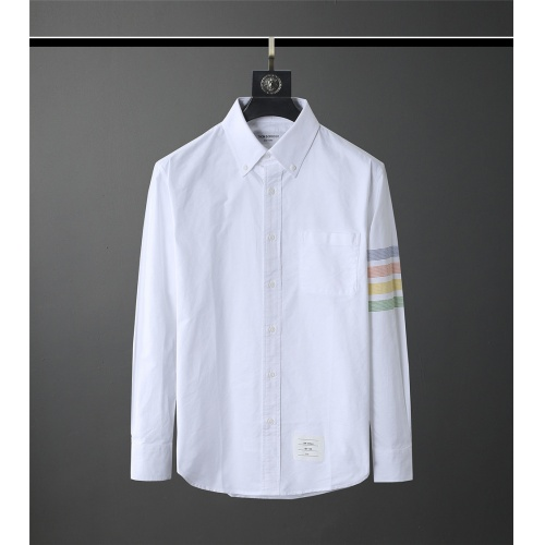Thom Browne TB Shirts Long Sleeved Polo For Men #831135