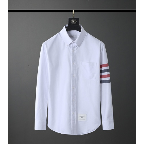 Thom Browne TB Shirts Long Sleeved Polo For Men #831136