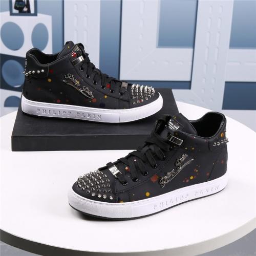 Philipp Plein PP Casual Shoes For Men #831142 $85.00 USD, Wholesale Replica Philipp Plein Shoes