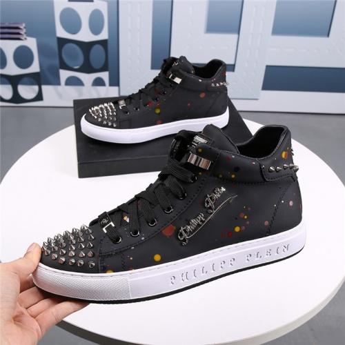 Replica Philipp Plein PP Casual Shoes For Men #831142 $85.00 USD for Wholesale