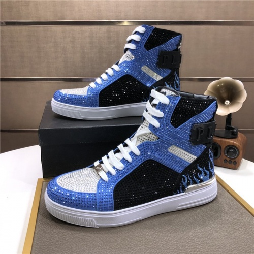 Philipp Plein PP High Tops Shoes For Men #831149