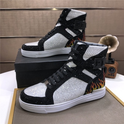 Philipp Plein PP High Tops Shoes For Men #831150