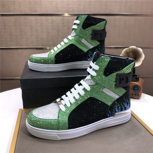 Philipp Plein PP High Tops Shoes For Men #831152