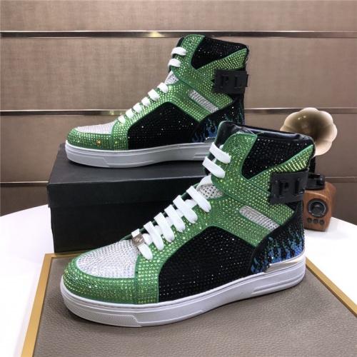 Philipp Plein PP High Tops Shoes For Men #831152