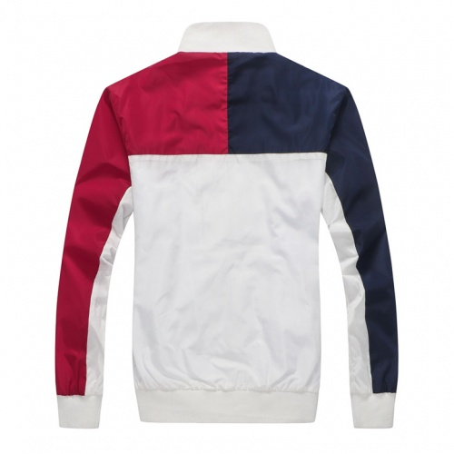 Replica Tommy Hilfiger TH Jackets Long Sleeved Zipper For Men #831250 $40.00 USD for Wholesale
