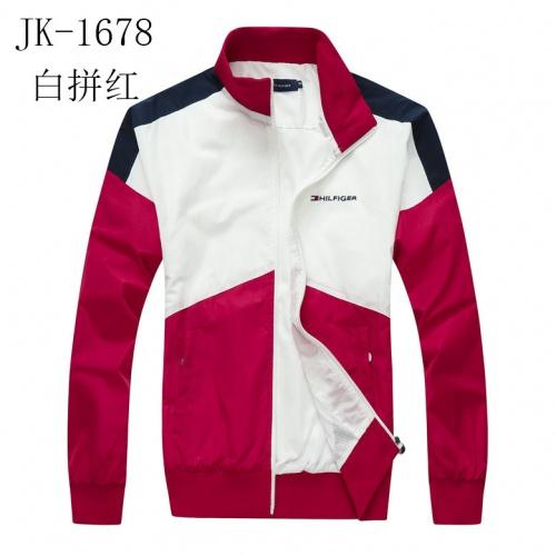 Tommy Hilfiger TH Jackets Long Sleeved Zipper For Men #831253