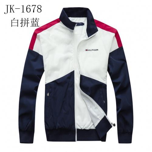 Tommy Hilfiger TH Jackets Long Sleeved Zipper For Men #831254