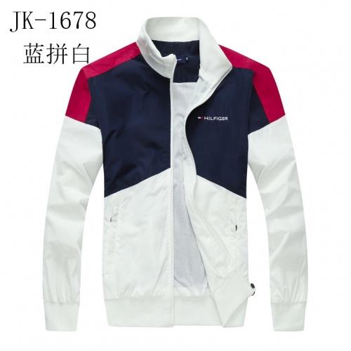 Tommy Hilfiger TH Jackets Long Sleeved Zipper For Men #831255