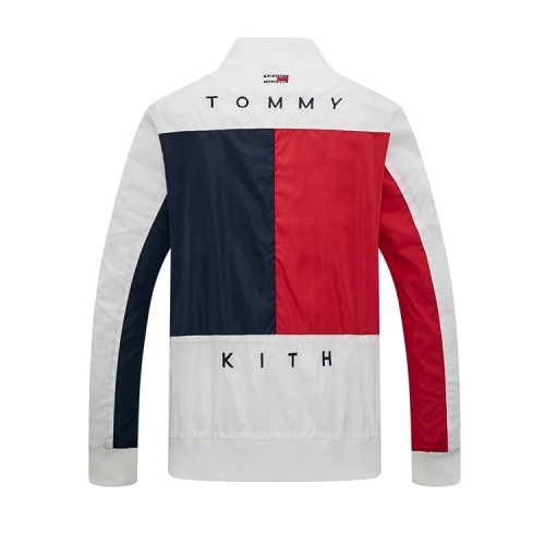 Replica Tommy Hilfiger TH Jackets Long Sleeved Zipper For Men #831256 $40.00 USD for Wholesale