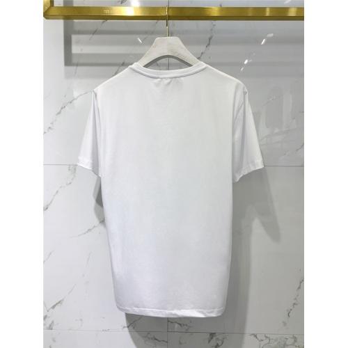 Replica Balmain T-Shirts Short Sleeved O-Neck For Men #831262 $41.00 USD for Wholesale