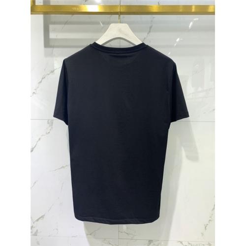 Replica Balmain T-Shirts Short Sleeved O-Neck For Men #831263 $41.00 USD for Wholesale