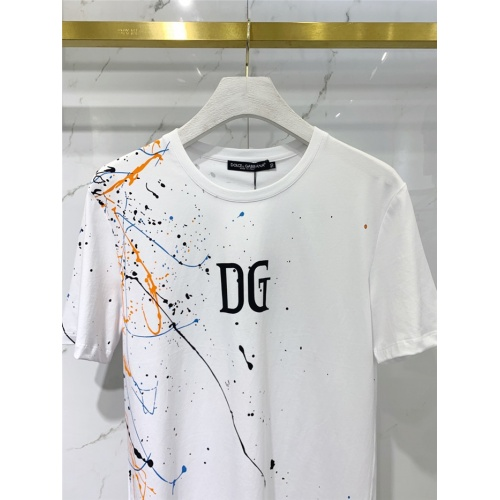 Replica Dolce & Gabbana D&G T-Shirts Short Sleeved O-Neck For Men #831264 $41.00 USD for Wholesale