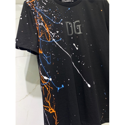 Replica Dolce & Gabbana D&G T-Shirts Short Sleeved O-Neck For Men #831265 $41.00 USD for Wholesale
