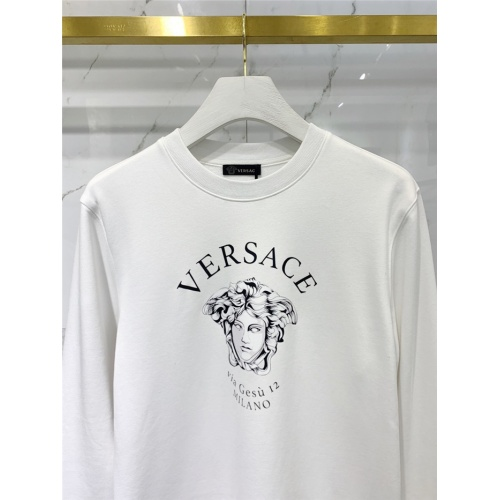 Replica Versace Hoodies Long Sleeved O-Neck For Men #831280 $61.00 USD for Wholesale