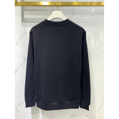 Replica Balmain Hoodies Long Sleeved O-Neck For Men #831283 $61.00 USD for Wholesale