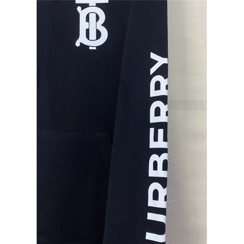 Replica Burberry Hoodies Long Sleeved Hat For Men #831284 $69.00 USD for Wholesale