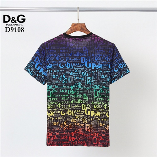Replica Dolce & Gabbana D&G T-Shirts Short Sleeved O-Neck For Men #831301 $30.00 USD for Wholesale