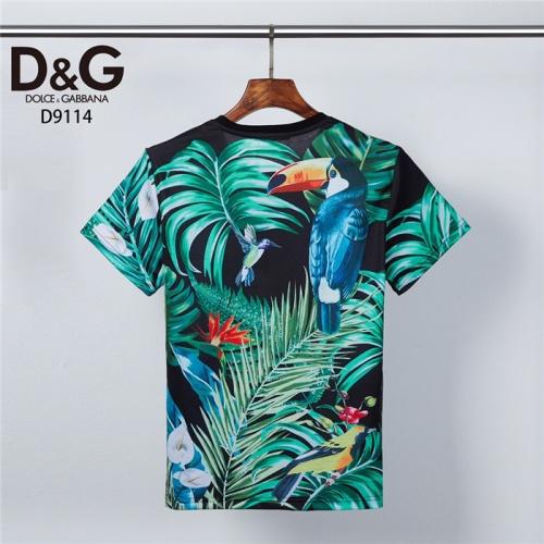 Replica Dolce & Gabbana D&G T-Shirts Short Sleeved O-Neck For Men #831309 $30.00 USD for Wholesale