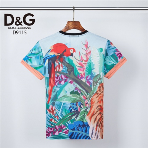 Replica Dolce & Gabbana D&G T-Shirts Short Sleeved O-Neck For Men #831310 $30.00 USD for Wholesale