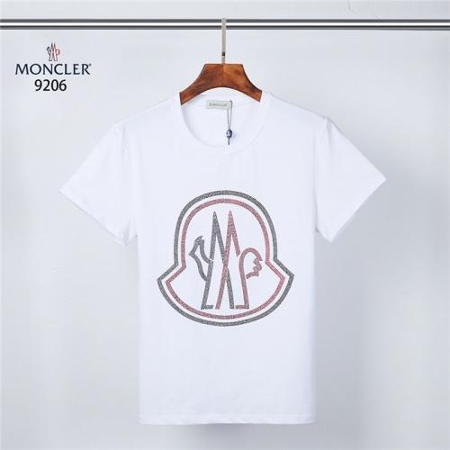 Moncler T-Shirts Short Sleeved O-Neck For Men #831315