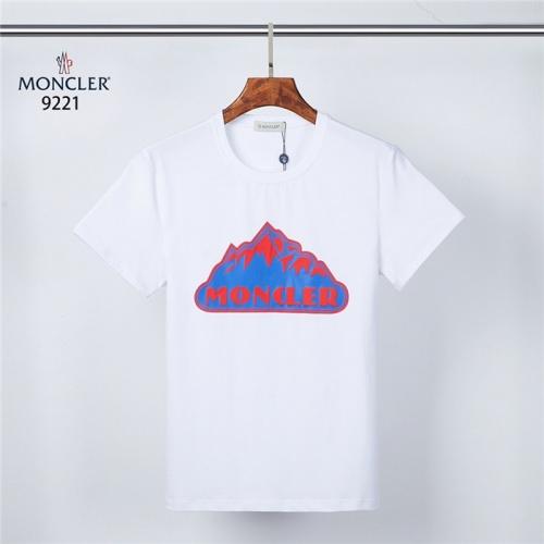 Moncler T-Shirts Short Sleeved O-Neck For Men #831319 $28.00, Wholesale Replica Moncler T-Shirts