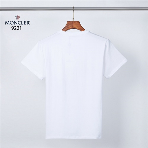 Replica Moncler T-Shirts Short Sleeved O-Neck For Men #831319 $28.00 USD for Wholesale