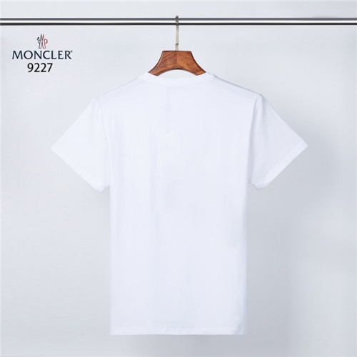 Replica Moncler T-Shirts Short Sleeved O-Neck For Men #831321 $28.00 USD for Wholesale