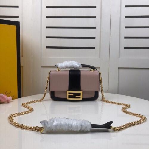 Fendi AAA Messenger Bags For Women #831352 $130.00 USD, Wholesale Replica Fendi AAA Messenger Bags