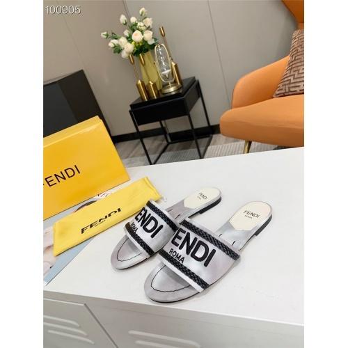 Fendi Slippers For Women #831376
