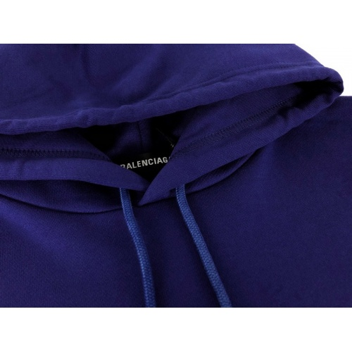 Replica Balenciaga Hoodies Long Sleeved Hat For Unisex #831411 $70.00 USD for Wholesale