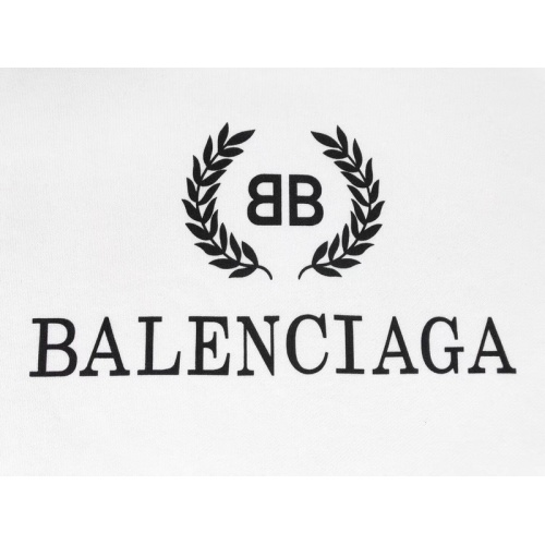 Replica Balenciaga Hoodies Long Sleeved Hat For Unisex #831429 $70.00 USD for Wholesale