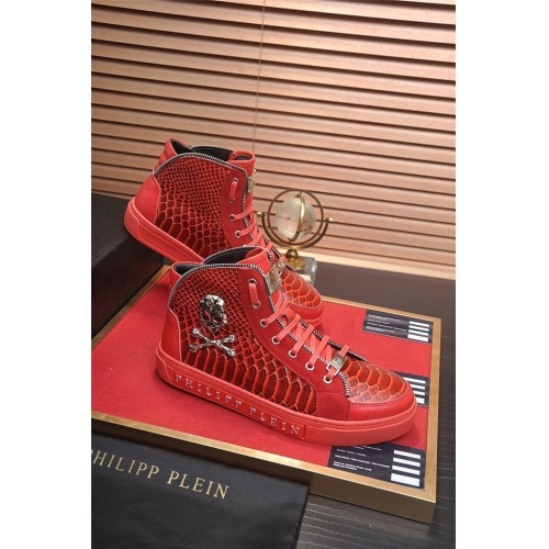 Philipp Plein PP High Tops Shoes For Men #831443