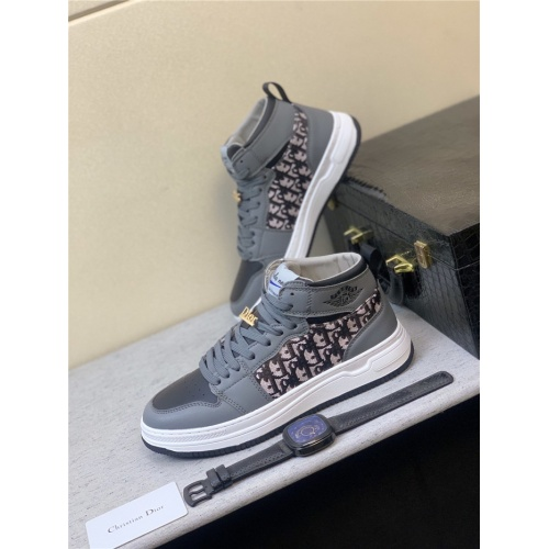 Christian Dior High Tops Shoes For Men #831444