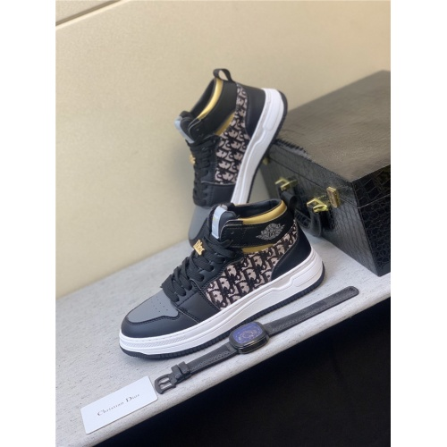 Christian Dior High Tops Shoes For Men #831445