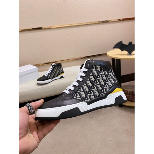 Christian Dior High Tops Shoes For Men #831446