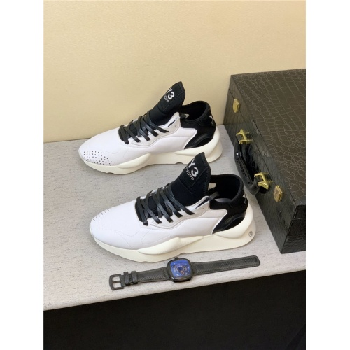 Replica Y-3 Casual Shoes For Men #831451 $82.00 USD for Wholesale