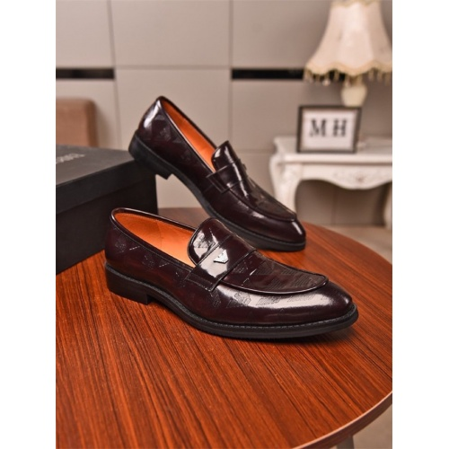 Armani Leather Shoes For Men #831460