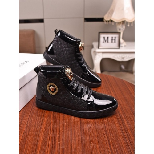Versace High Tops Shoes For Men #831464