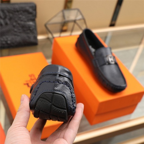 Replica Hermes Casual Shoes For Men #831490 $76.00 USD for Wholesale