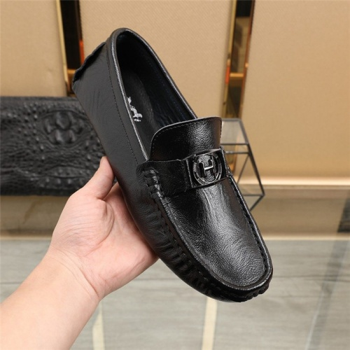 Replica Hermes Casual Shoes For Men #831491 $76.00 USD for Wholesale