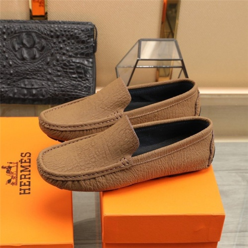Replica Hermes Casual Shoes For Men #831492 $76.00 USD for Wholesale