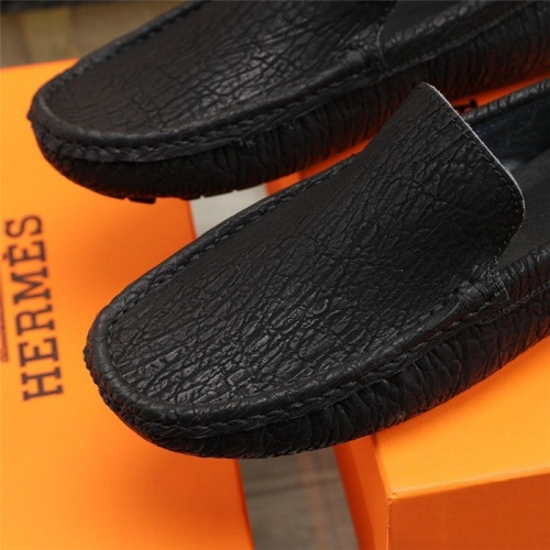 Replica Hermes Casual Shoes For Men #831493 $76.00 USD for Wholesale