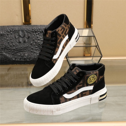 Fendi High Tops Casual Shoes For Men #831494