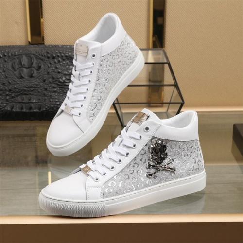 Philipp Plein PP High Tops Shoes For Men #831496