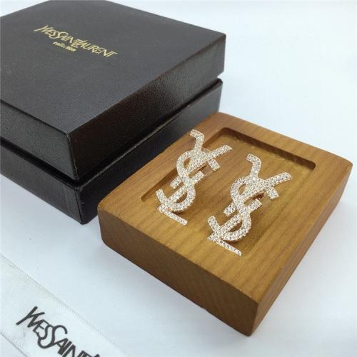 Replica Yves Saint Laurent YSL Earring For Women #831566 $35.00 USD for Wholesale